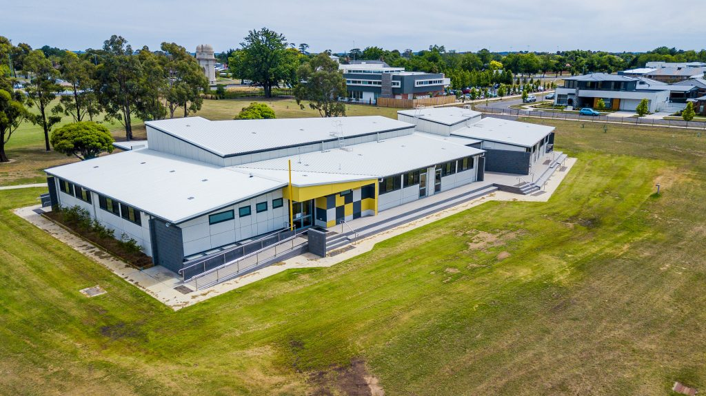 Ballarat High School modular building
