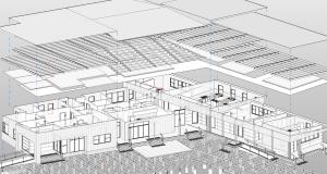 Architectural modular building plans